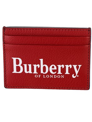 BURBERRY - RED AND BLACK WALLET