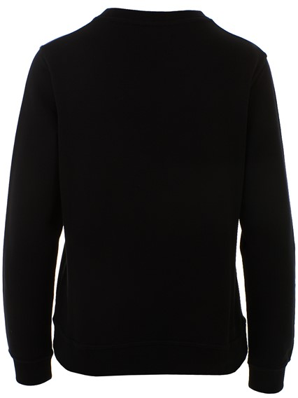 bac058460 kenzo BLACK LOGO SWEATSHIRT available on lungolivigno.com - 28146