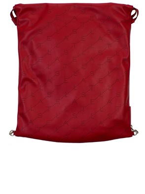 STELLA MC CARTNEY - RED BUCKET BAG