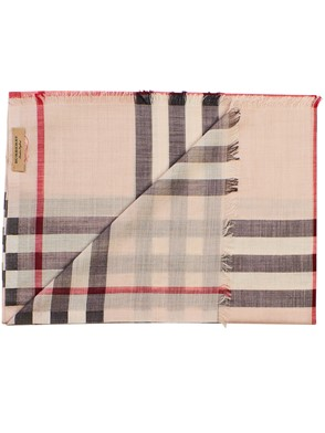 BURBERRY - SICARPA GIANT CHECK GAUZE