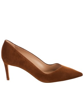 STUART WEITZMAN - BROWN ANNY PUMPS