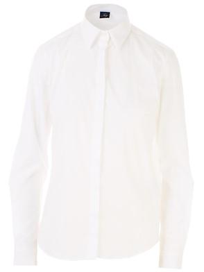 FAY - WHITE POPLIN SHIRT