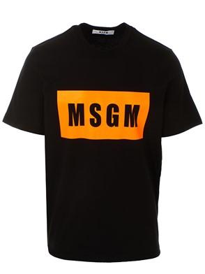 MSGM - BLACK M/C T-SHIRT