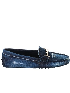TOD'S - MOCASSINO JEANS