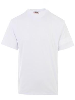 GCDS - WHITE M/C T-SHIRT