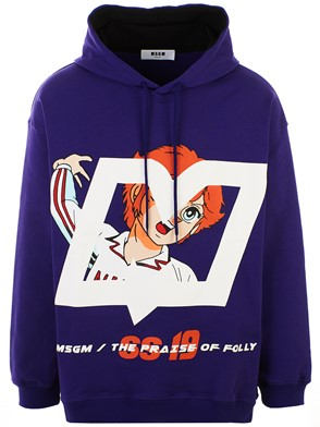 MSGM - PURPLE SWEATSHIRT