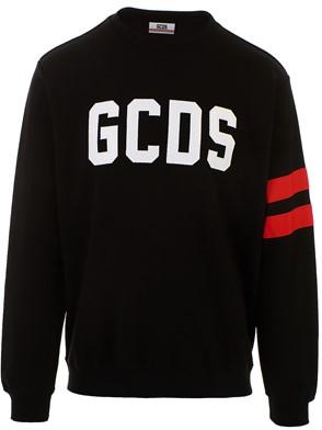 GCDS - BLACK LOGO SWEATSHIRT