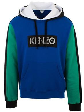 KENZO - BLUE LOGO SWEATSHIRT