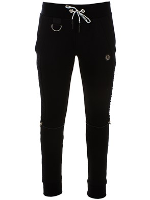 PHILIPP PLEIN - BLACK JOGGING PANTS