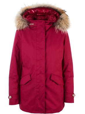 WOOLRICH - PARKA 3 IN 1 FUCSIA