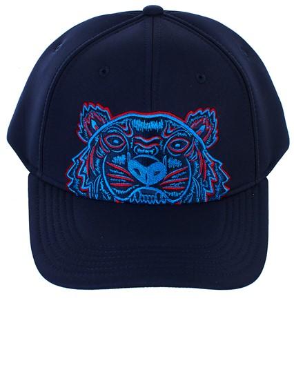 97034966 kenzo BLUE LOGO BASEBALL HAT available on lungolivigno.com - 28300