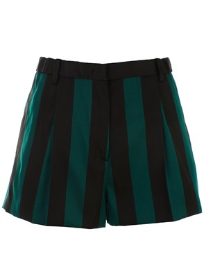 N21 - BLACK AND GREEN SHORT