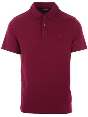 MICHAEL MICHAEL KORS - BURGUNDY POLO SHIRT