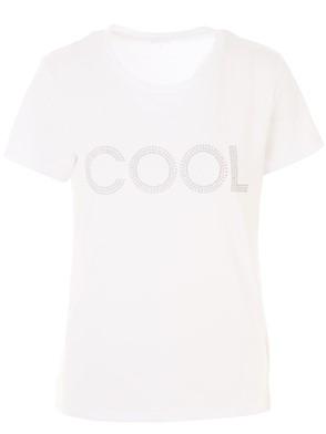 MICHAEL KORS - T-SHIRT M/C COOL BIANCA