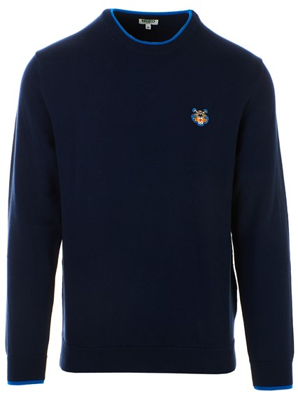 a116c3244 kenzo NAVY TIGER SWEATSHIRT available on lungolivigno.com - 28329