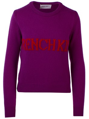 ALBERTA FERRETTI - PURPLE SWEATER