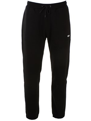 MSGM - BLACK LOGO PANTS