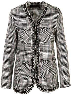 ERMANNO DI ERMANNO SCERVINO - GREY CHANEL JACKET