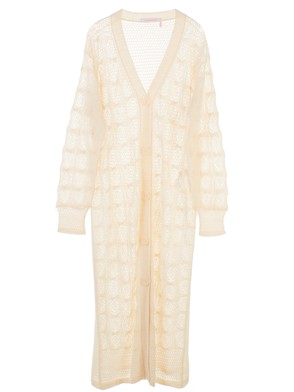 SEE BY CHLOE' - WHITE CARDIGAN