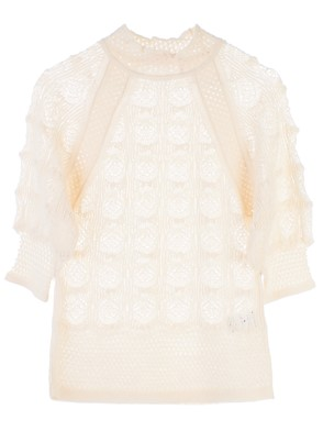 SEE BY CHLOE' - WHITE SWEATER