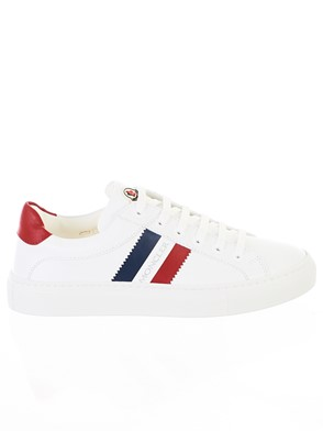 MONCLER - WHITE NEW LENI SNEAKERS