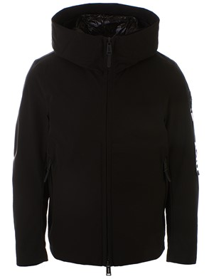 ADD DOWN - BLACK DOWN JACKET