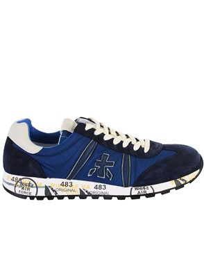PREMIATA - BLUE LUCY SNEAKERS