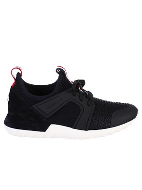 MONCLER - BLACK SNEAKERS