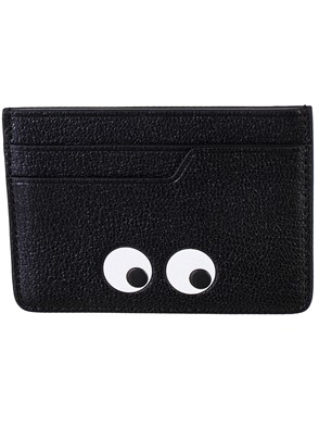 ANYA HINDMARCH - BLACK CARD HOLDER
