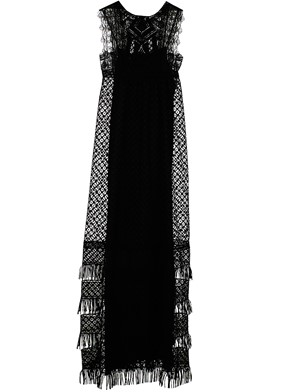 ALBERTA FERRETTI - BLACK DRESS