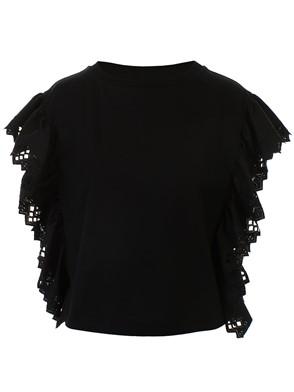ALBERTA FERRETTI - BLACK T-SHIRT