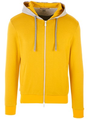 ELEVENTY - YELLOW SWEATSHIRT