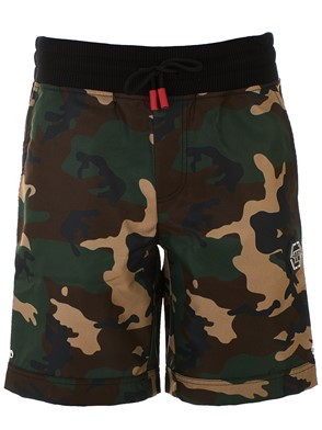PHILIPP PLEIN - GREEN BERMUDA SHORTS