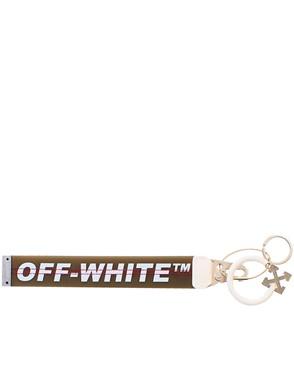 OFF WHITE c/o VIRGIL ABLOH - WHITE AND GREY KEYRING