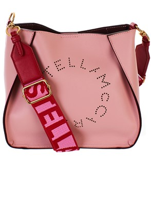 STELLA MC CARTNEY - BORSA CROSSBODY ROSA