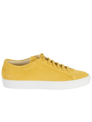 COMMON PROJECTS - SNEAKER ACHILLES GIALLA