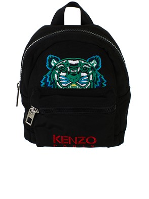 KENZO - BLACK MINI BACKPACK