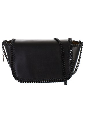 STELLA MC CARTNEY - BORSA MINI CROSSBODY NERA