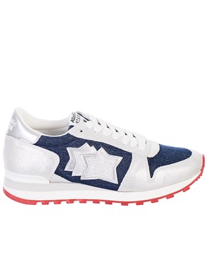 ATLANTIC STAR - SILVER AND BLUE ALHENA SNEAKERS