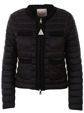 MONCLER - BLACK WELLINGTON DOWN JACKET