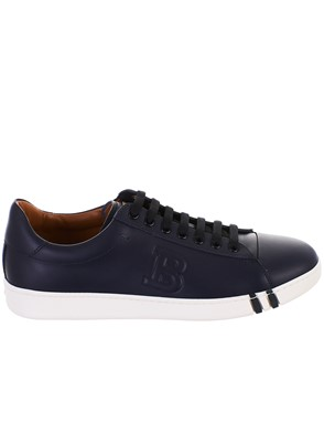 BALLY - NAVY SNEAKERS
