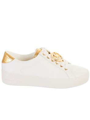 MICHAEL KORS - SNEAKERS POPPY LACE BIANCA