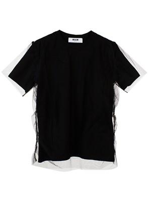 MSGM - BLACK T-SHIRT