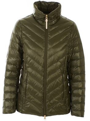 WOOLRICH - GREEN CLARION DOWN JACKET