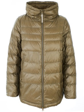 WOOLRICH - CLAY COLOR CLARION DOWN JACKET