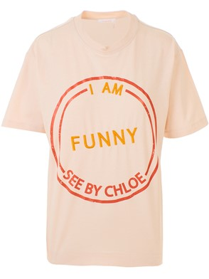 SEE BY CHLOE' - T-SHIRT ROSA