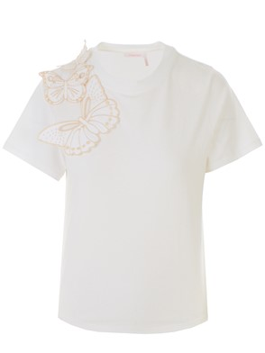 SEE BY CHLOE' - T-SHIRT BIANCA