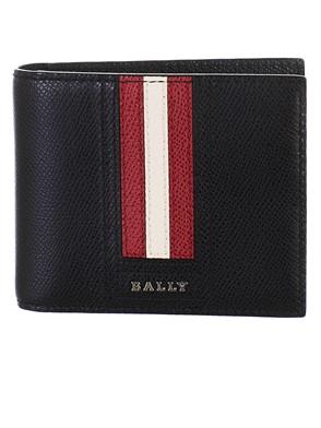BALLY - PORTAFOGLIO NERO