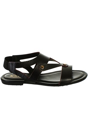 TOD'S - BLACK SANDALS
