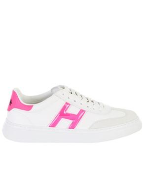 HOGAN - WHITE H365 SNEAKERS
